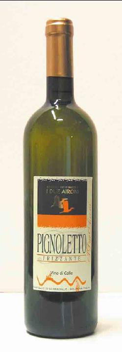 Pignoletto frizzante DOP  vino di colle